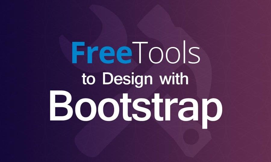 Bootstrap Dutzend. Kostenlose Werkzeuge zum Design.