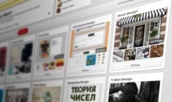 """""""Web Design auf dem Board"""": Pinterest Inspiration für Web Designers"""