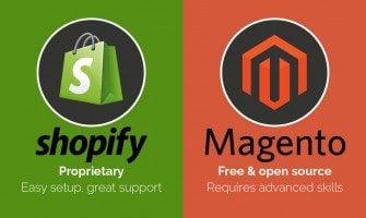 Kampf der Titanen: Shopify vs. Magento