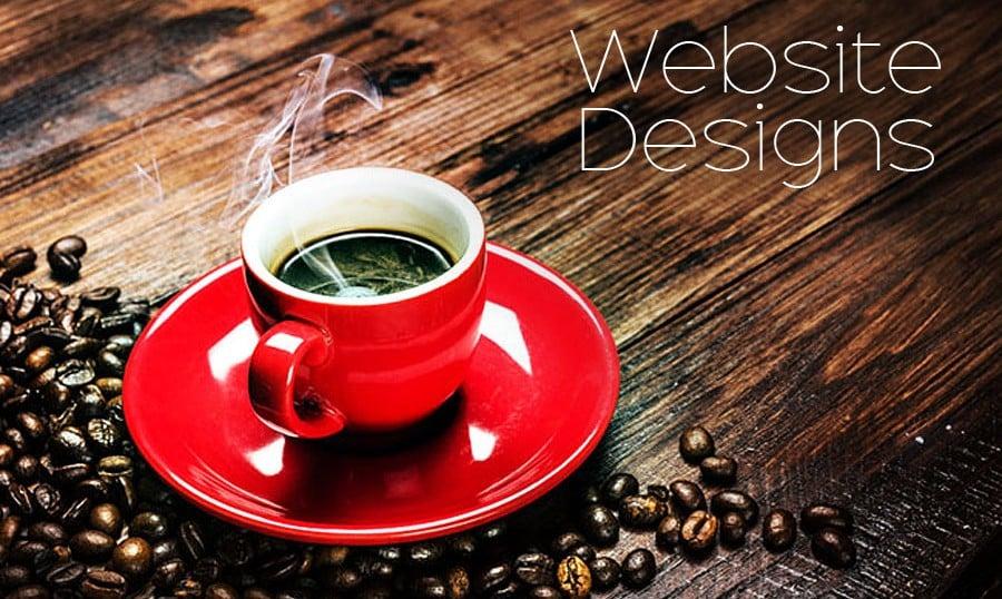 Zur Inspiration: Website Designs mit Kaffeeduft