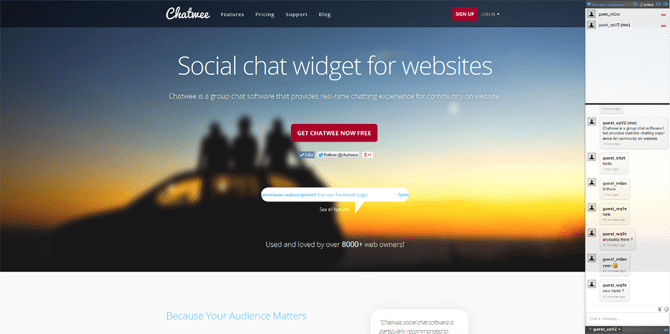 Chatwee-Live-Chat