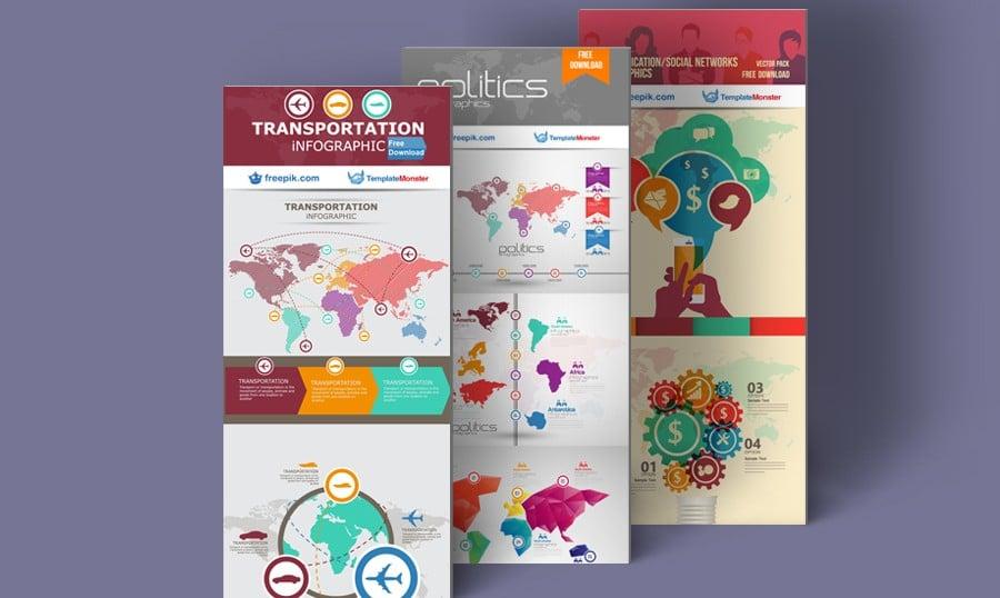 Exklusive Hochwertige Kostenlose Infografik-Vorlagen