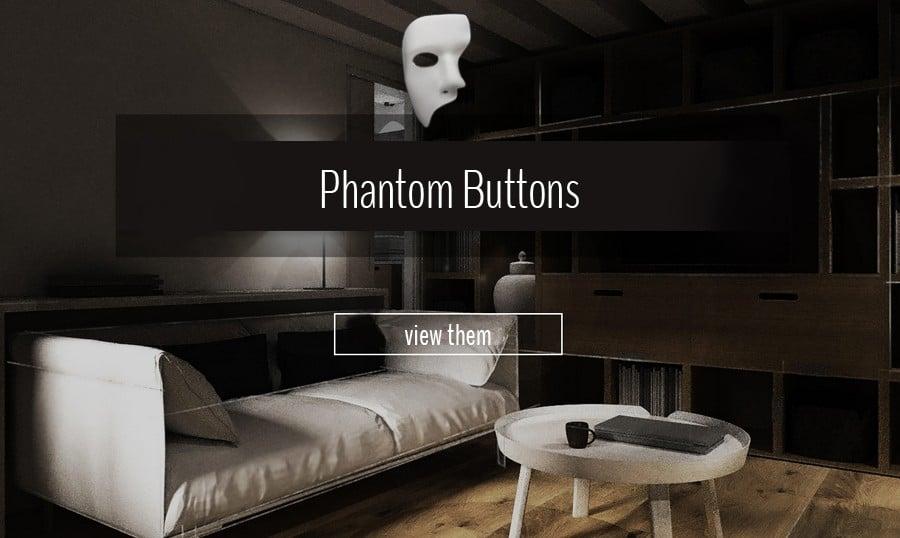 Design-Phantom: Geiste Buttons als ein ikonischer Trend 2014
