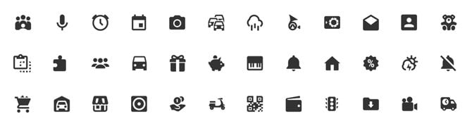 Android Material Design Icons