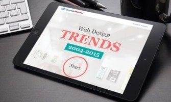 Webdesign Trends Infografik – In der Zeitmaschine durch die Jahre 2004-2015