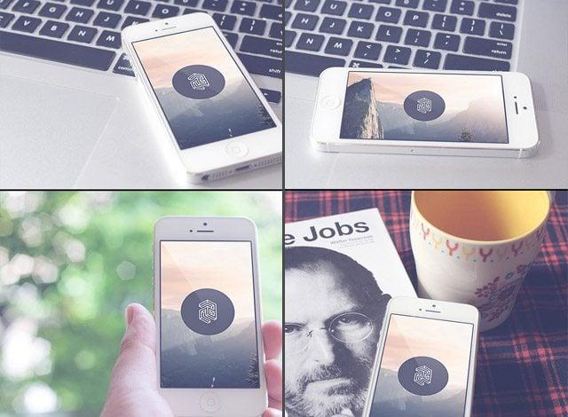 iPhone5 Rrealistic Mockups