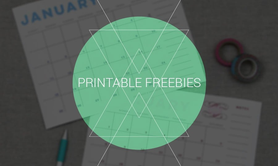 Free Printables, um Deine Ziele für das Jahr 2015 zu setzen