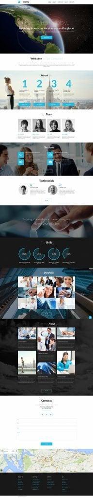 Business Responsive Moto CMS 3 Vorlage