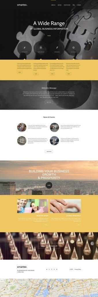WordPress Theme für Business und Dienstleistungen