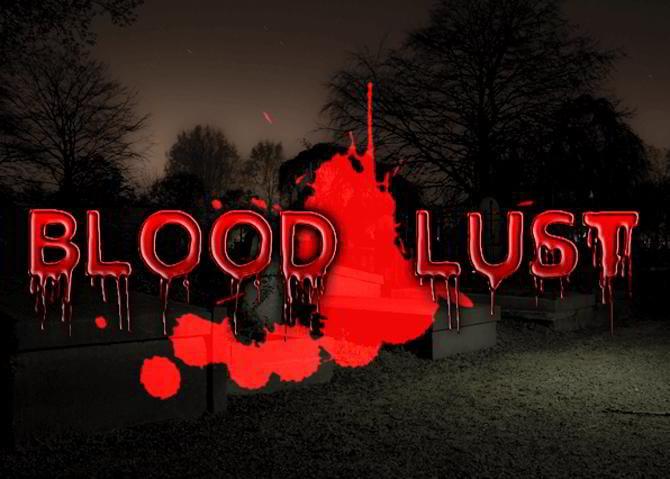 Blutdurst-Schrift