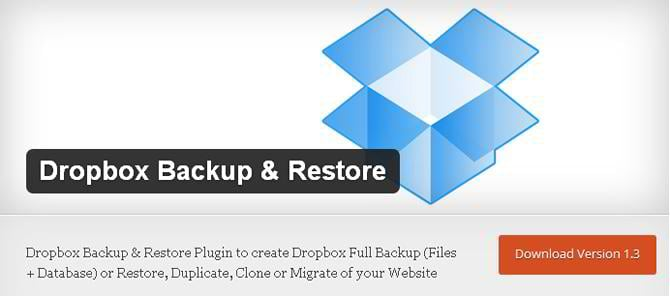 dropbox-backup-restore-plugin