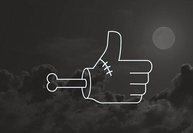 Halloween-Soziale-Icons