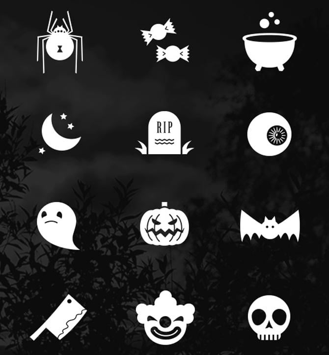 Icon-Set-Halloween
