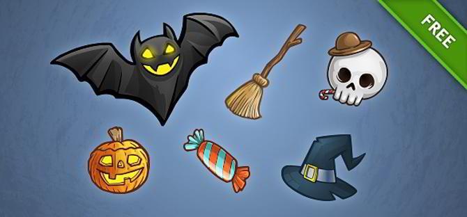 PSD-Halloween-Set