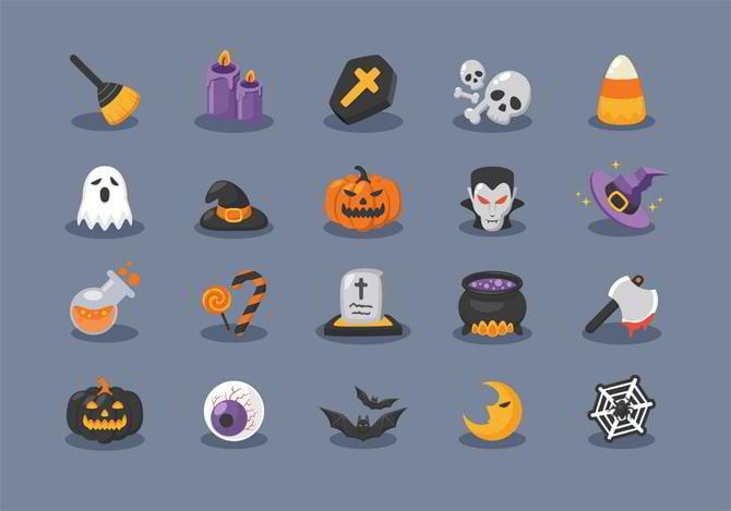 Halloween-Icons