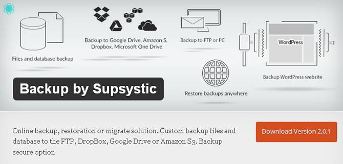 supsystic-backup-plugin