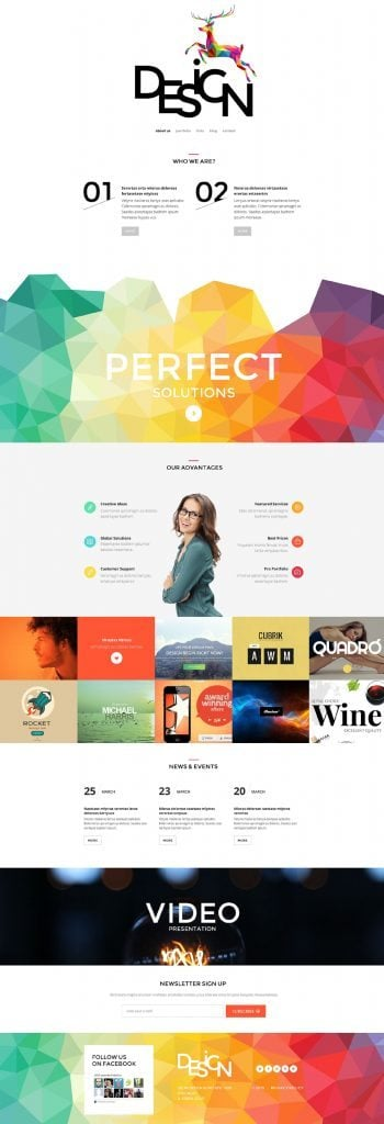 Design PSD Theme