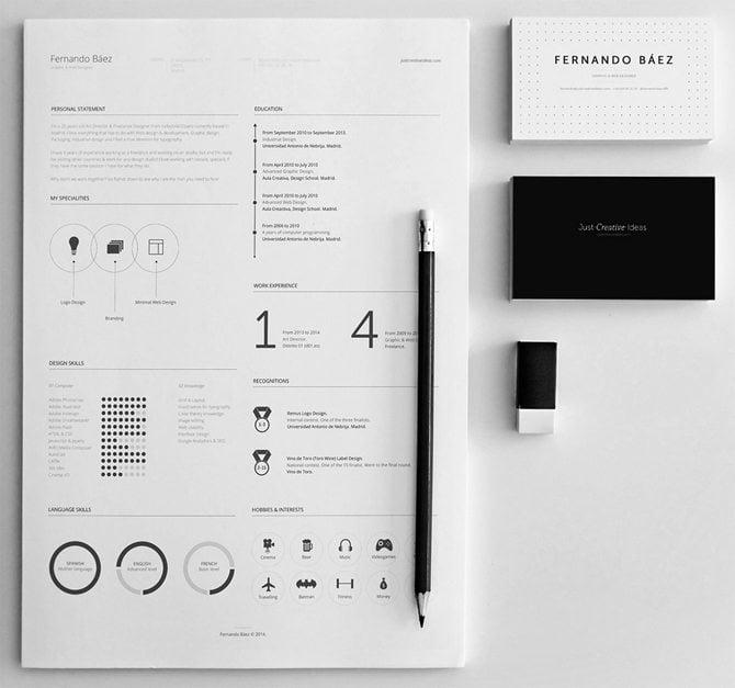 Checkt diese minimalistische PSD-Lösung mit einer eleganten Schwarz ...