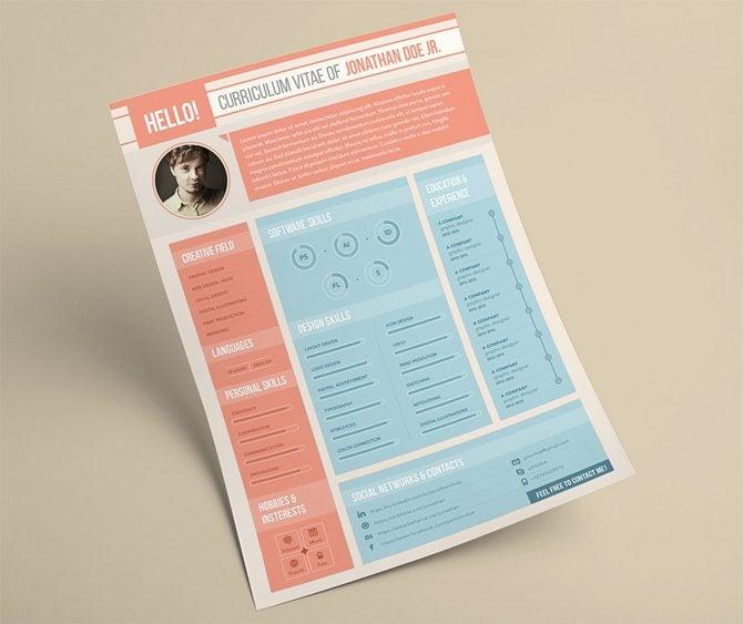 Gratis-Curriculum-Vitae-Template