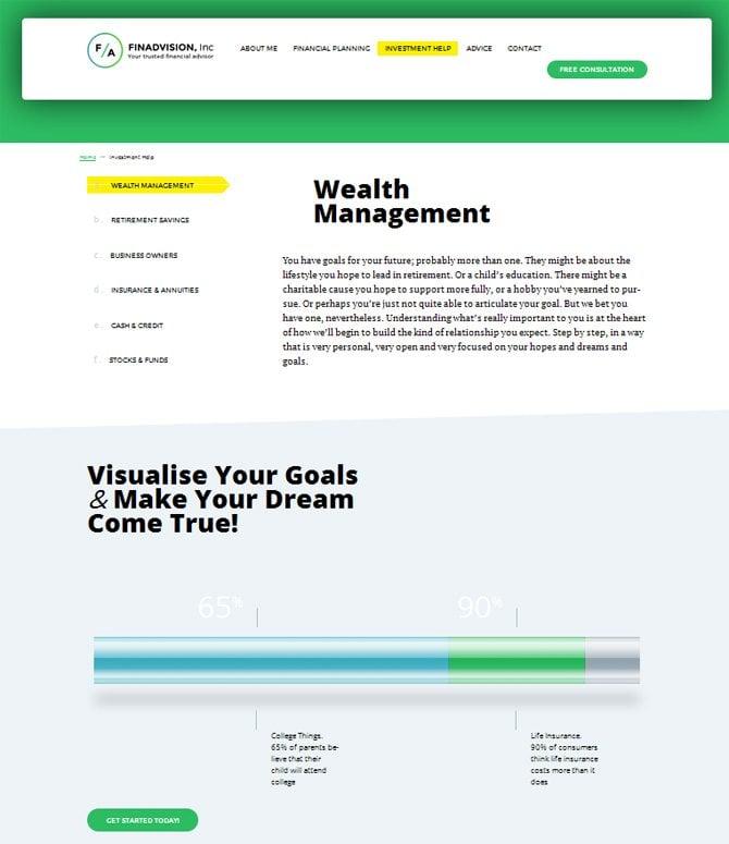 Investitionshilfeseite