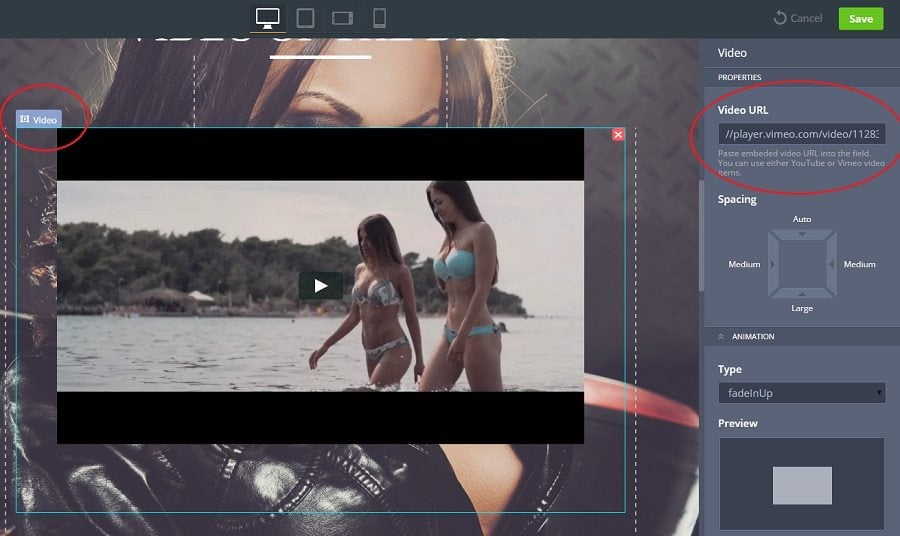 Videointegration