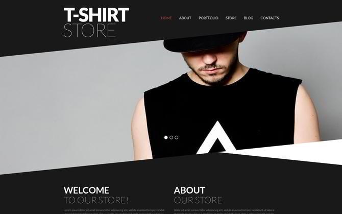 Shop für T-Shirts