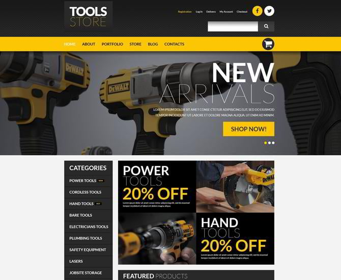 Template für Werkzeuge