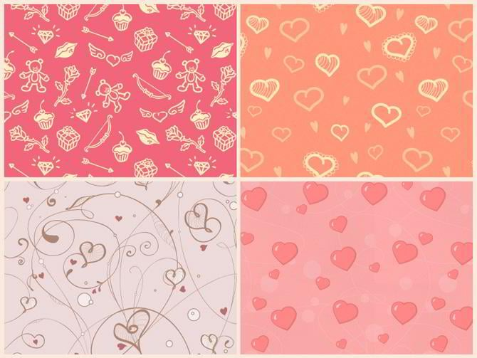 Gratis Muster zum Valentinstag von Intersog