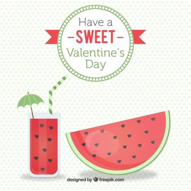 Wassermelone Gratis Vektor von Freepik