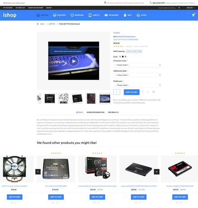 Einzigartige-Produkt-Seiten