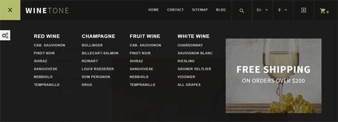 winetone-megamenü