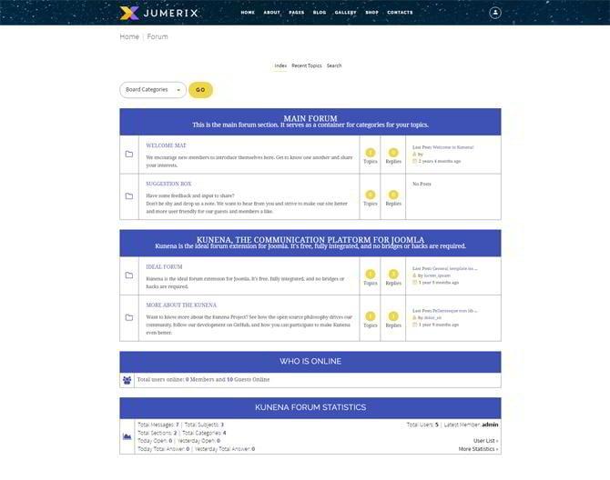 Jumerix-forum