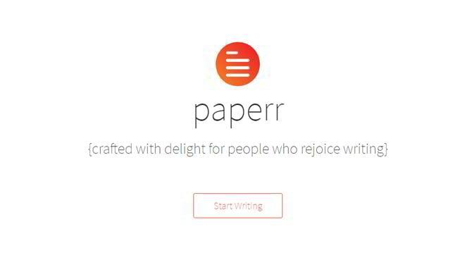 Schreibwerkzeug-Paperr
