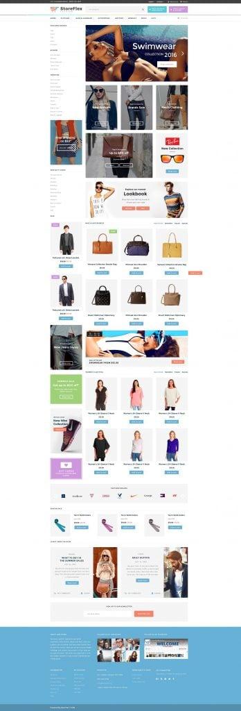 StoreFlex-Homepage