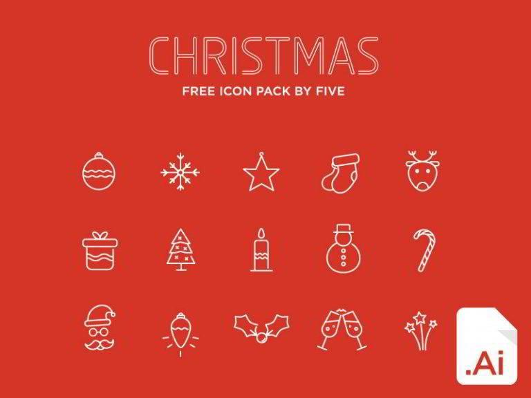 Weihnachts-Icons-von-Domagoj-Kapulica