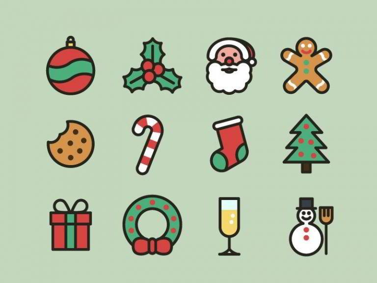Weihnachts-Icons-Daniele-De-Santis