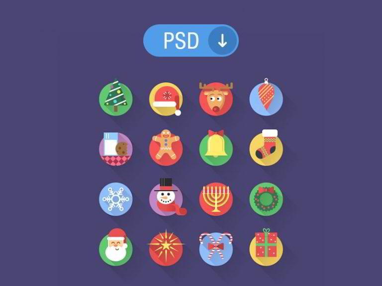 Weihnachts-Icons-von-Adrian-Goia