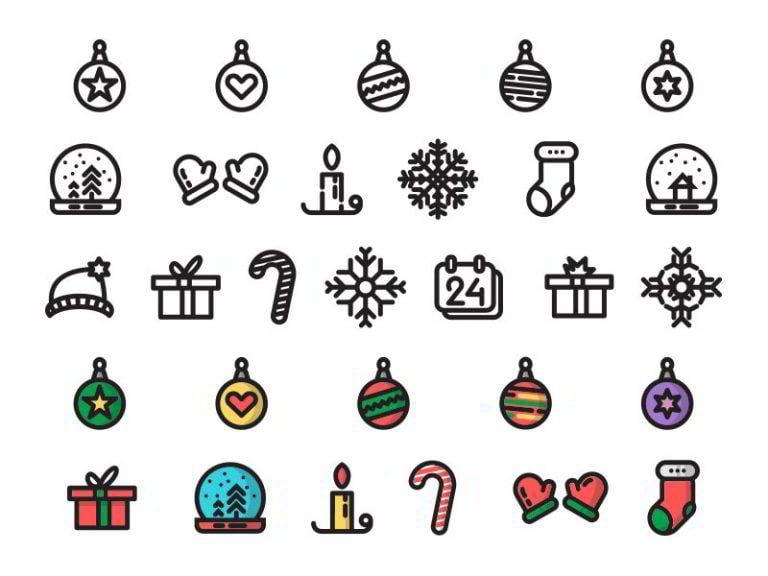Weihnachts-Icons-von-Pavel-Chaloupka