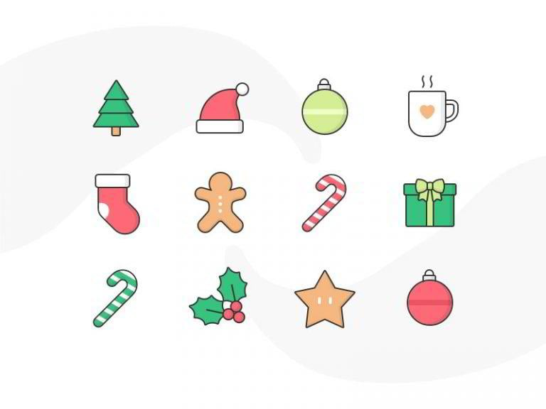 Weihnachts-Icons-von-Cécile-L.-Parker