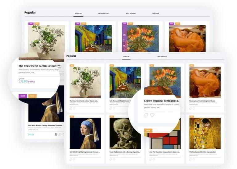 Artworker-Store-Katalog