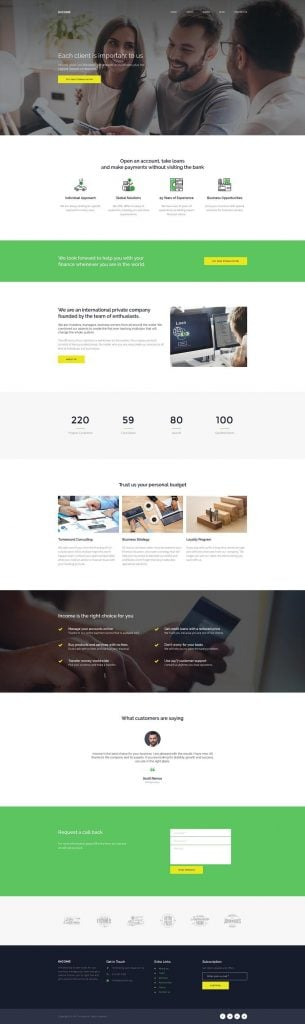 corporate-website-design-loan-home-page