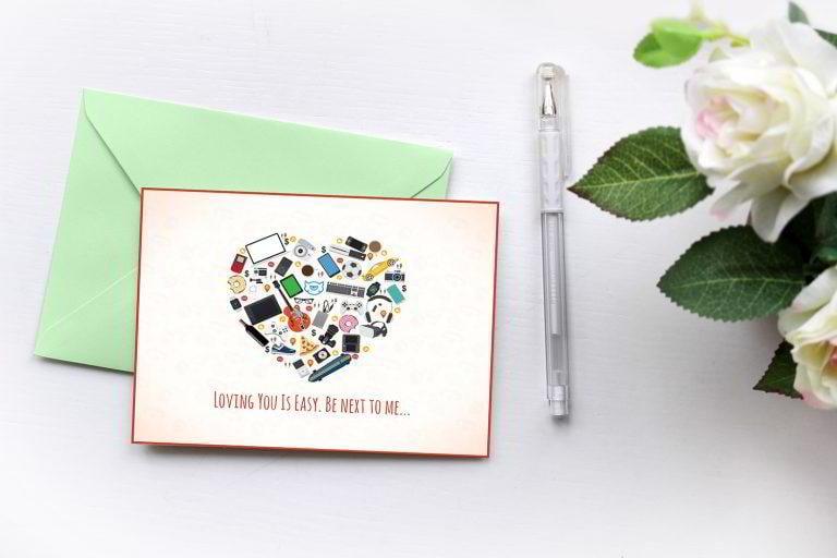 Liebespostkarte
