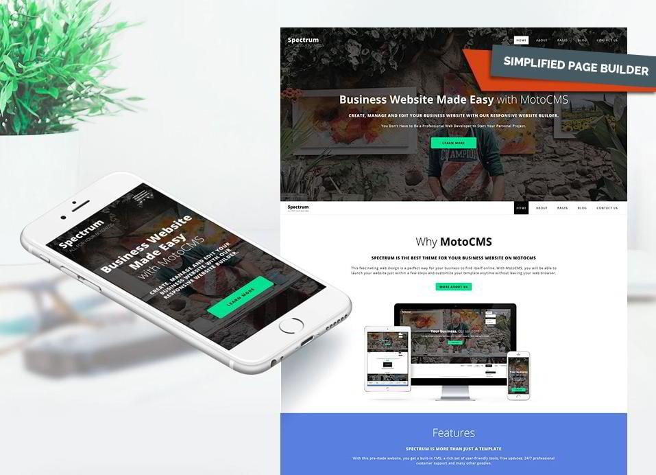 Die 3 besten MotoCMS Vorlagen für eine Business Website