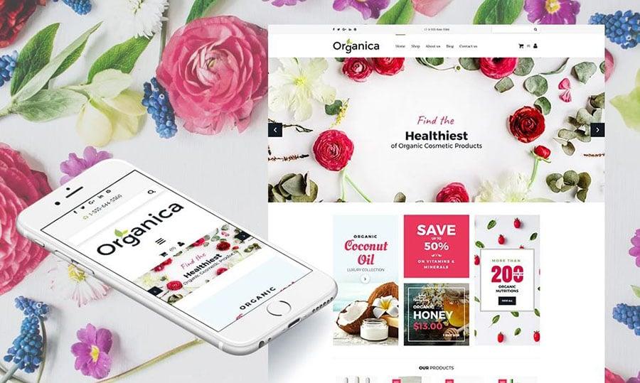 Homepage für Kosmetikgeschäft erstellen
