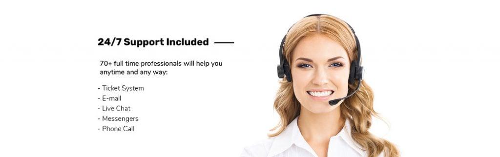 Skyline Business Website - technische Unterstützung