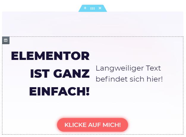 wordpress elementor die größe des texts ändern