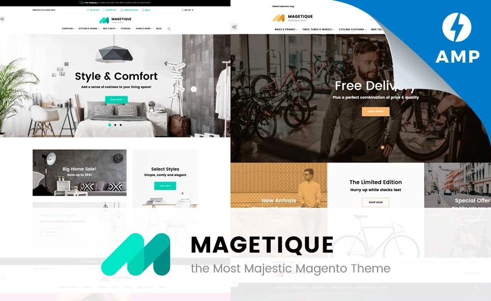 Magetique - Magento Theme mit AMP