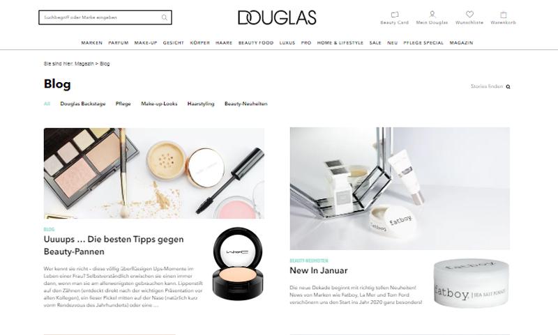 Blog von Douglas