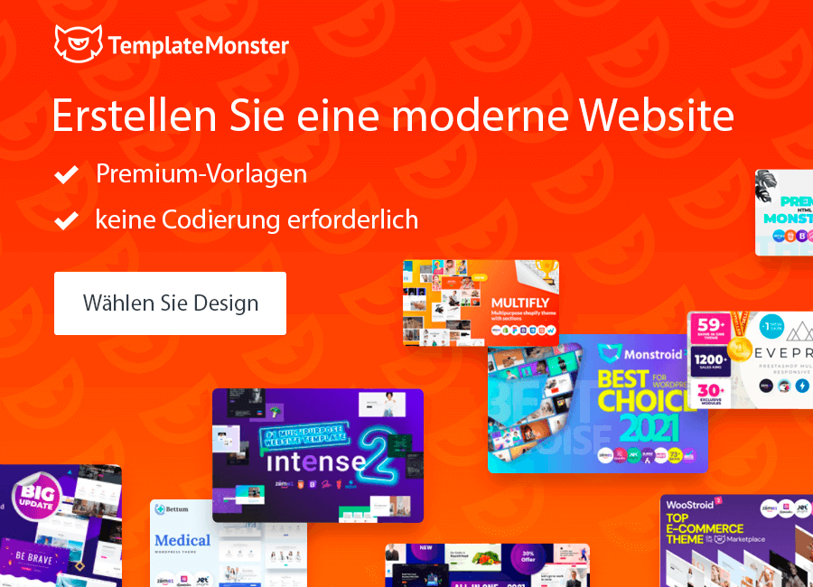website vorlagen