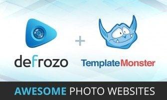 TemplateMonster se Hace Socio de Defrozo para Agitar el Mundo de Fotografía en 2015
